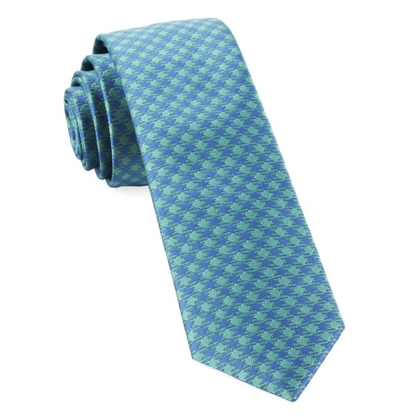 Aqua Commix Checks Tie