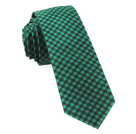 Kelly Green Commix Checks ties