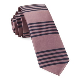Turf Stripes Pink Ties