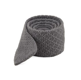 Grey Field Solid Knit ties