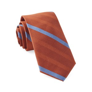 goal line stripe orange ties