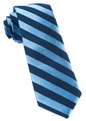 Ties - Lumber Stripe - Light Blue
