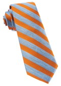 Ties - Lumber Stripe - Orange
