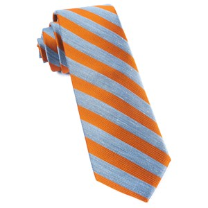 lumber stripe orange ties