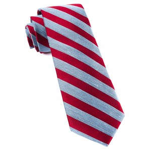 lumber stripe red ties