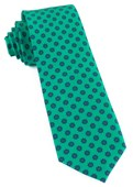 Ties - Major Star - Emerald Green
