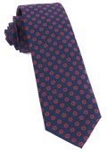 Ties - Major Star - Navy