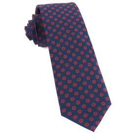 Major Star Navy Ties