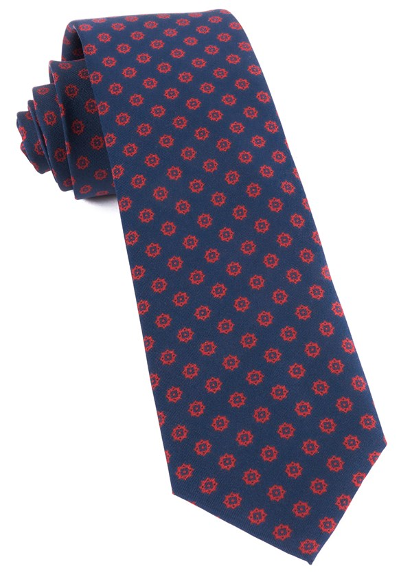 Major Star Navy Tie