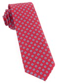 Ties - Major Star - Apple Red