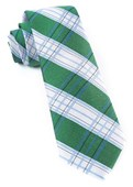 Ties - Noonday Plaid - Clover Green