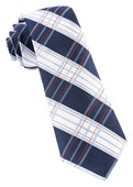 Ties - Noonday Plaid - Navy