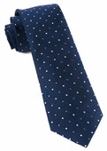 Ties - Jpl Dots - Navy