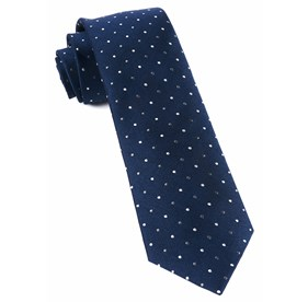 Navy Jpl Dots ties