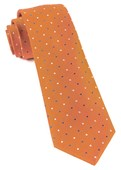 Ties - Jpl Dots - Orange
