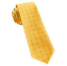 Yellow Jpl Dots ties