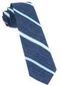Ties - Spare Stripe - Navy