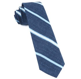 Navy Spare Stripe ties