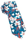 Ties - Tropic Of Linen - Navy