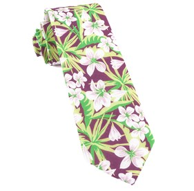 Wine Tropic Of Linen ties