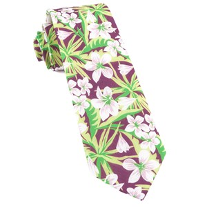 tropic of linen wine ties
