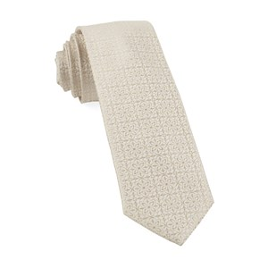 opulent light champagne ties