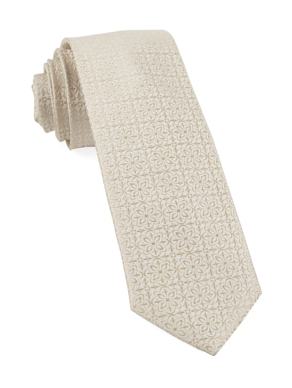 Opulent Light Champagne Tie