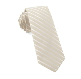 Light Champagne Aisle Runner Stripe ties