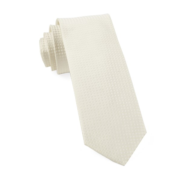 Ivory Be Married Checks Tie