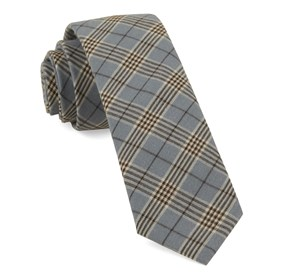 Powder Blue Newton Plaid ties