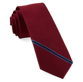 Red Triple Play Stripe ties