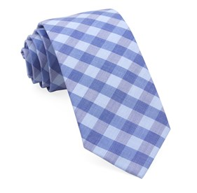Light Blue Old City Checks ties