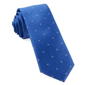 Statesman Stars Light Cobalt Blue Ties