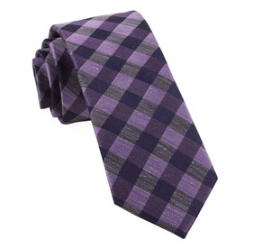 Lavender Hale Checks ties