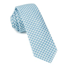 Sky Blue Chance Checks ties