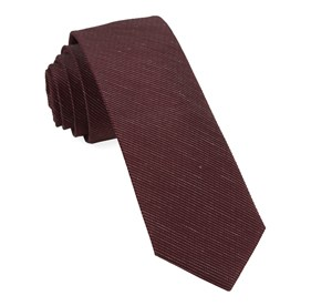 Bhldn Black Cherry Solid Black Cherry Ties