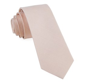 Bhldn Blush Textured Solid Blush Ties