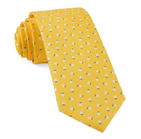 Yellow Gold Wonder Floral ties