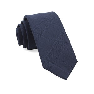 polar plaid grey ties