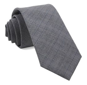 Grey Cast Plaid ties