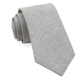 Light Grey Foundry Solid ties