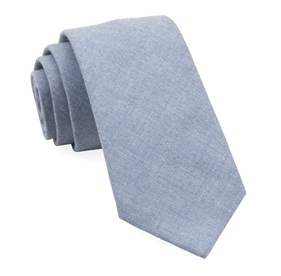 Light Blue Foundry Solid ties