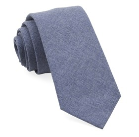Warm Blue Foundry Solid ties