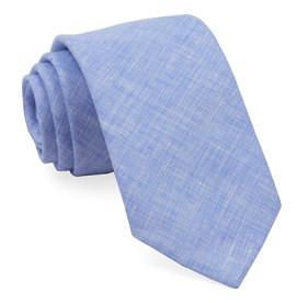 Light Blue South End Solid ties