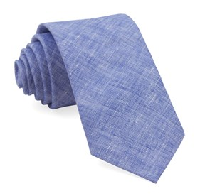 Blue South End Solid ties