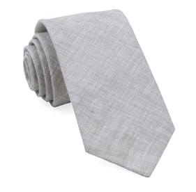 Grey South End Solid ties