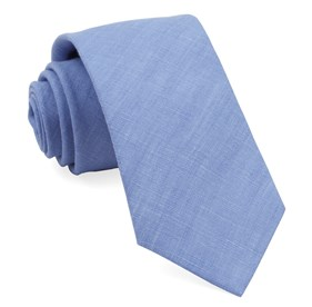 Periwinkle South End Solid ties