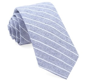 Navy Bondi Stripe ties