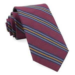 rangel stripe burgundy ties
