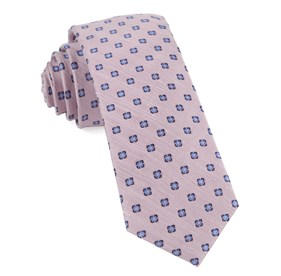 Baby Pink Medallion Scene boys ties